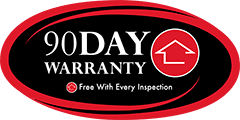 90 Day Warranty with all Glendale Home Inspections