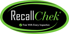 Recall Chek with all Glendale Home Inspections